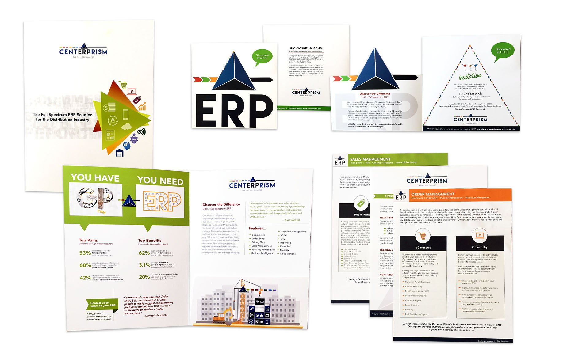Centerprism Corporate Collateral