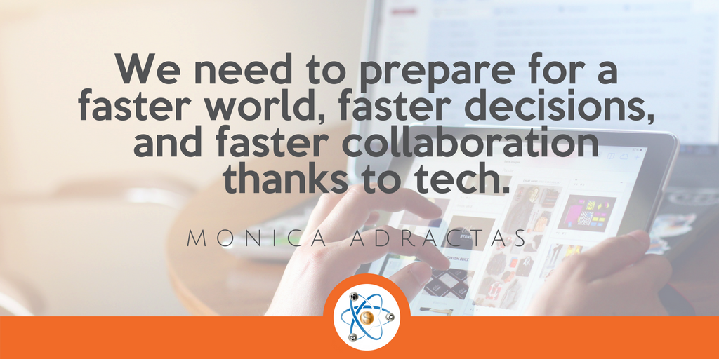 monica adractas facebook workplace quote collision conference